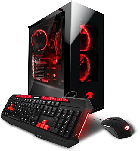iBUYPOWER Gaming Computer Desktop PC AM002i – Intel i7-7700 3.60Ghz, NVIDIA Geforce GTX 1070 8GB,