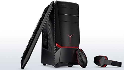 Flagship Lenovo IdeaCentre Y900 VR Ready Gaming Desktop, Intel Quad-Core i7-6700K up to 4.2GHz, 8GB NVIDIA GeForce GTX 1070,