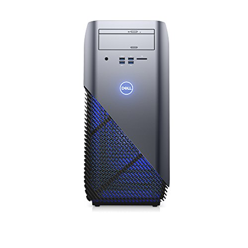 Dell i5675-A933BLU-PUS Inspiron 5675 AMD Desktop, Ryzen 5 1400 Processor, 8GB, 1TB, AMD Radeon RX 570 4GB GDDR5 Graphics,