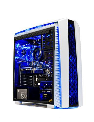 Skytech Gaming ST-ARCH-II-001 [GAMER'S CHOICE] SkyTech Archangel II Gaming Computer Desktop PC AMD Ryzen 5 1400,GTX 1050 TI 4GB,