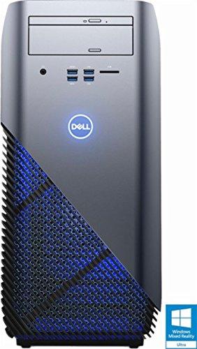Newest Dell Inspiron 5000 Flagship High Performance Gaming Desktop | AMD Ryzen 5 1400 Quad-Core | AMD Radeon RX 570 | 8GB RAM | 1TB HDD | DVD +/-RW | Windows 10 | USB Keyboard&Mouse
