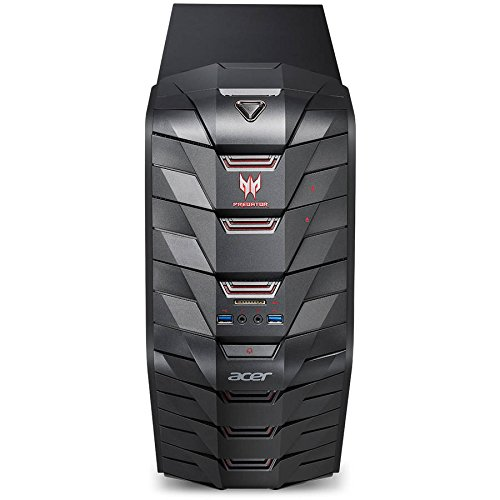 Acer Predator AG3-710 Gaming Desktop Computer, Intel Quad-Core i5-6400 2.7GHz, 8GB Memory, 128GB M.2 SSD + 1TB HDD,