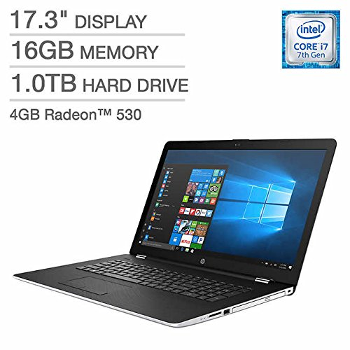 2018 Newest Premium HP 17.3″ Full HD IPS Gaming Laptop, Intel Dual-Core i7-7500U up to 3.5GHz,