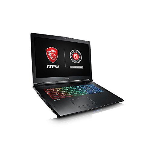 "MSI GP72MX Leopard-1214 17.3"" Performance Gaming Laptop Black"