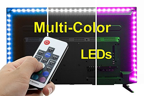 SPE Bias Lighting with Remote Control for HDTV – Small (39in / 1m) – Multi-Color RGB –