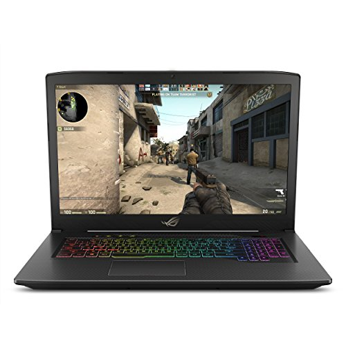 "ASUS ROG Strix GL703VM Scar Edition 17.3"" 120Hz Gaming Laptop, GTX 1060 6GB, Intel Core i7-7700HQ 2.8 GHz,"