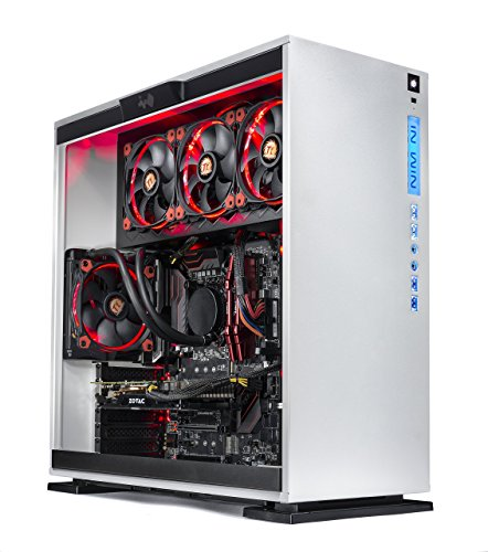 SkyTech Omega Gaming Computer Desktop PC Intel i7-7700K 4.2Ghz, Liquid Cooled, GTX 1060 6GB, 2TB HDD,