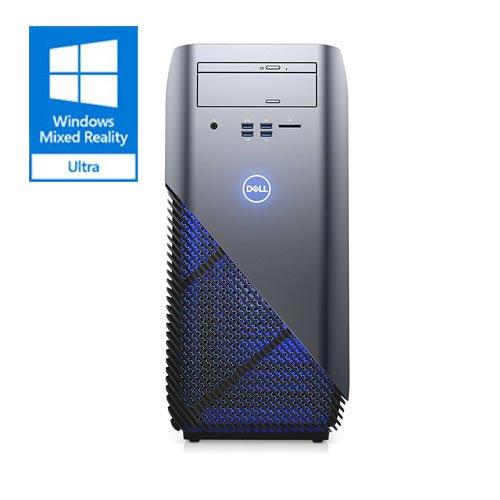 Dell i5675-A957BLU-PUS Inspiron 5675 AMD Desktop, Ryzen 7 1700X Processor, 8GB, 1TB, AMD Radeon RX 580 8GB GDDR5 Graphics,