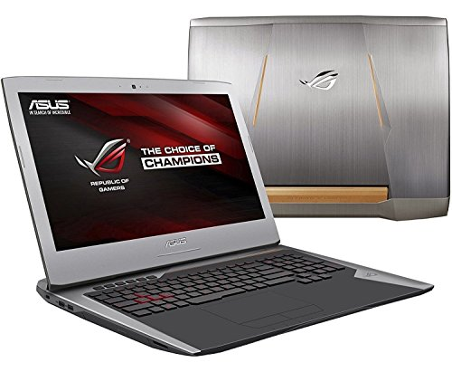 ASUS ROG G752 17.3″ FHD Premium Gaming Laptop, Intel i7-6700HQ up to 3.5GHz, 16GB DDR4,