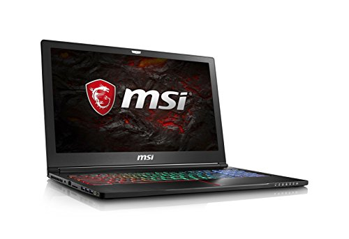 MSI GS63VR Stealth Pro-229 15.6″ Thin and Light Gaming Laptop Intel Core i7-7700HQ GTX 1060 32GB 512GB NVMe SSD + 1TB VR Ready