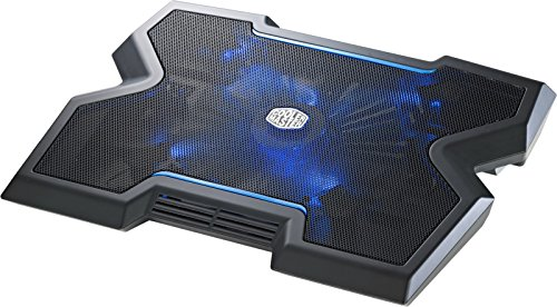 Cooler Master NotePal X3 – Gaming Laptop Cooling Pad with 200mm Blue LED Fan