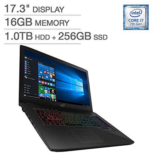 ASUS ROG Strix GL703VM-IH74 17.3″ Gaming Laptop, Intel Core i7-7700HQ 2.8 GHz, 16GB DDR4 RAM,