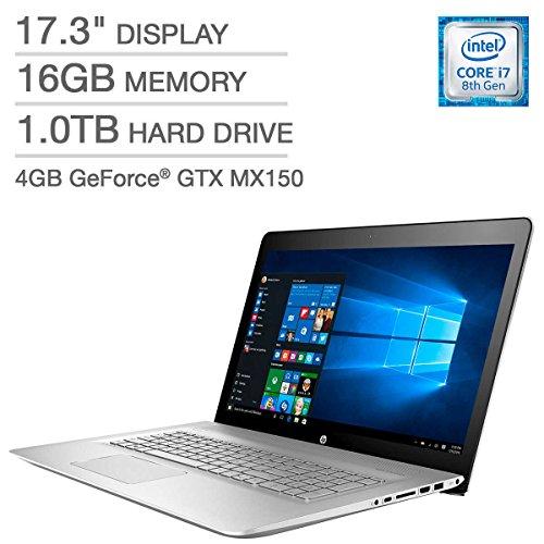 2018 HP Envy 17 Laptop – 17.3″ IPS Full HD (1920×1080), 8th Gen Intel Quad-Core i7-8550U,