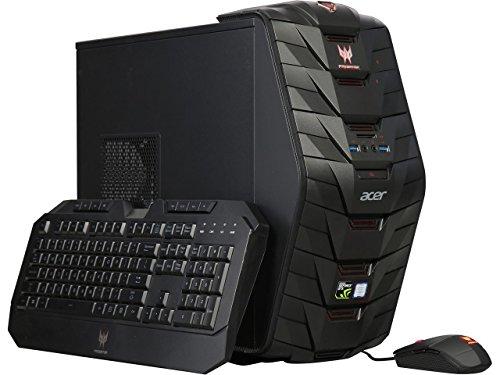 Acer Predator Full Tower Gaming Desktop, Intel i7-7700 3.6GHz Quad-Core, 32GB DDR4 2400, 1TB HDD + 256 GB SSD,
