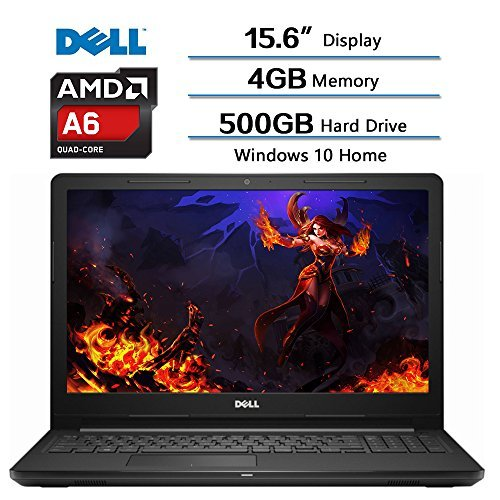 2018 Newest Dell Flagship Inspiron 15.6 IN HD Widescreen LED Laptop, AMD A6-9200 accelerated Processor,