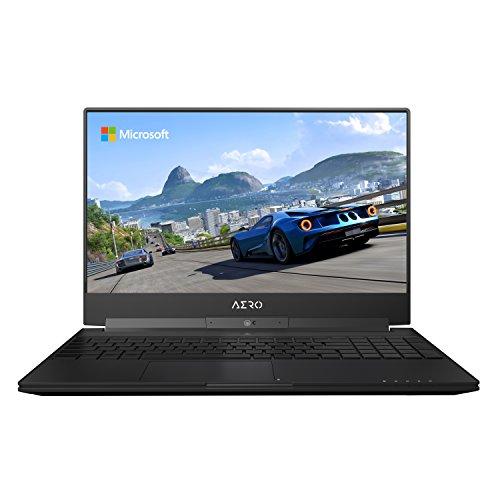 GIGABYTE Aero 15W v8-BK4 15″ Ultra Slim Gaming Laptop 144Hz FHD Thin Bezel X-Rite i7-8750H,