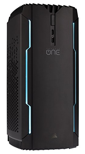 CORSAIR ONE ELITE Compact Gaming Desktop PC, Intel Core i7-8700K, GTX 1080 Ti, 480GB M.2 SSD,