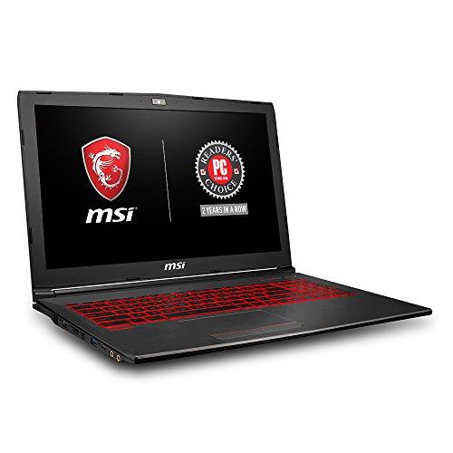 MSI GV62 8RD-034 15.6″ Thin and Light Gaming Laptop GTX 1050Ti 4G i7-8750H (6 Cores) 8GB 128GB SSD + 1TB Windows 10 64 bit