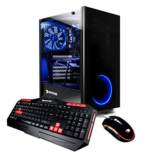 iBUYPOWER Elite Gaming Desktop AMD Ryzen 7 1800 X 3.6GHz, AMD Radeon RX 580 4GB,
