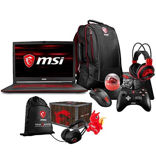 MSI GL73 8RC-032 (i7-8750H, 16GB RAM, 128GB SATA SSD + 1TB HDD, NVIDIA GTX 1050 4GB,