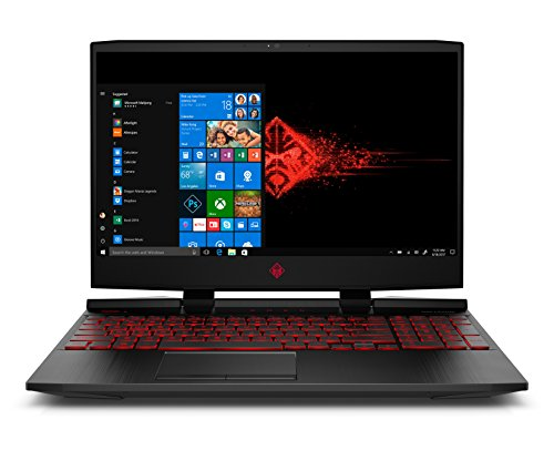 OMEN HP 15.6-inch Gaming Laptop, i5-8300H Processor, GeForce GTX 1050Ti 4GB, FHD IPS Thin Display,