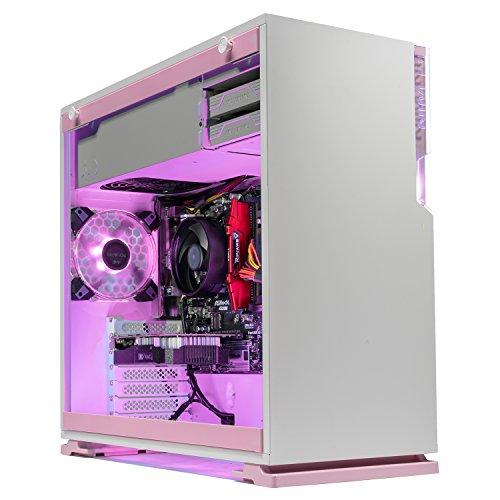 [Limited Pink Edition] SkyTech Venus Desktop Gaming Computer PC (Ryzen 3 1200, GTX 1060 3GB,