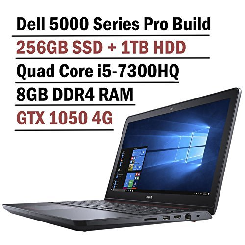 2018 Dell Inspiron 15 5000 15.6″ FHD Gaming Laptop Computer, Intel Quad-Core i5-7300HQ up to 3.5GHz,