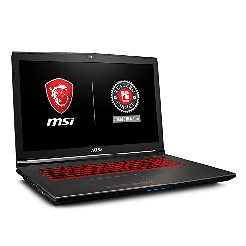 MSI GV72 8RE-007 17.3″ Thin and Light Gaming Laptop GTX 1060 3G i7-8750H (6 Cores) 16GB 256GB SSD + 1TB Windows 10,