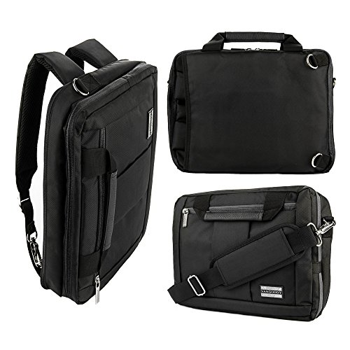 Laptop Convertible Backpack Business Computer Messenger Bag Briefcase for Men Women Travel Daypack College Student Backpack,