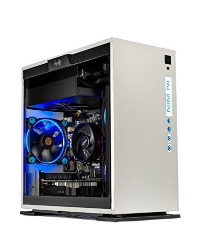 SkyTech Omega Mini Gaming Computer Desktop PC AMD Ryzen 5 1400 3.2 GHz, GTX 1050 2G,