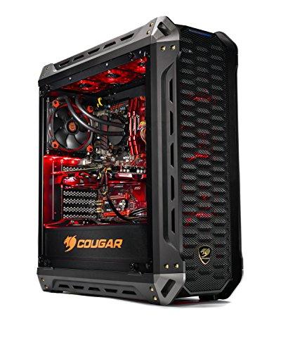 SkyTech Siege – Gaming Computer PC Desktop – RYZEN 7 1700X, 250GB SSD with 3D NAND,