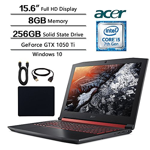 Acer Nitro 15.6 inch Gaming Flagship Laptop, 15.6″ Full HD Display, Intel Core i5-7300 (up to 3.5GHz),