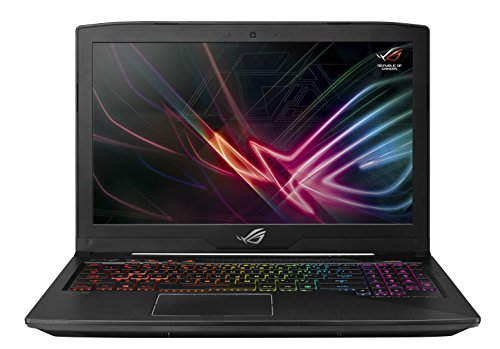 CUK ROG Strix Gamer Notebook (Intel 8th Gen i7-8750H, 16GB RAM, 500GB SSD, NVIDIA GeForce GTX 1050 Ti 4GB,