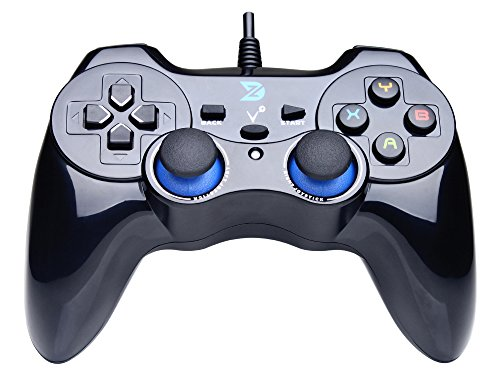 ZD-V+ USB Wired Gaming Controller Gamepad For PC/Laptop Computer(Windows XP/7/8/10) & PS3 & Android &