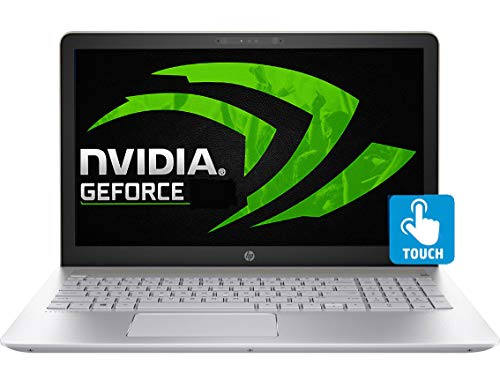 """HP Touch 15-CK013 Gaming Laptop 8th Gen. Intel Quad Core i7 up to 4.0GHz 12GB 256GB SSD 15.6"""" FHD WiFi Webcam B&O Audio Nvidia 2GB (Certified Refurbished)"""