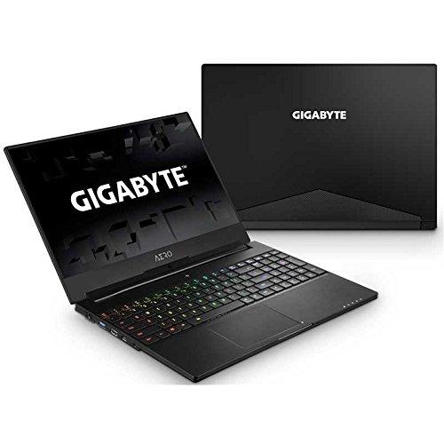 GIGABYTE Aero 15X v8-BK4 15″ Ultra Slim Gaming Laptop 144Hz IPS Anti-Glare FHD Display, i7-8750H,