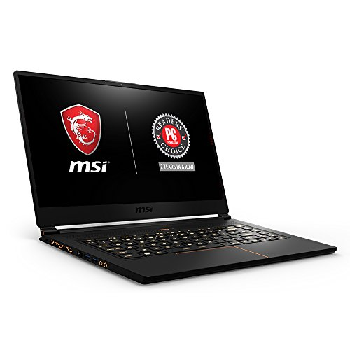 MSI GS65 Stealth THIN-051 15.6″ 144Hz 7ms Ultra Thin Gaming Laptop GTX 1060 6G, i7-8750H 6 Core,