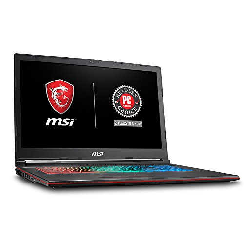 MSI GP73 Leopard-209 17.3″ Thin and Light Gaming Laptop GTX 1070 8G i7-8750H (6 Cores) 16GB 256GB SSD + 1TB Windows 10,