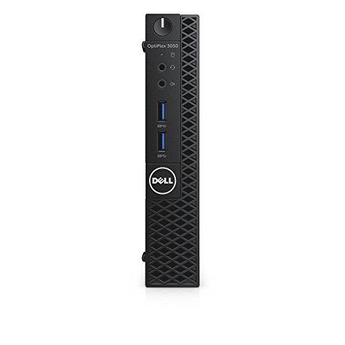 Dell CFC5C OptiPlex 3050 Micro Form Factor Desktop Computer, Intel Core i5-7500T, 8GB DDR4, 256GB Solid State Drive,