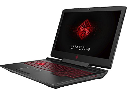 HP OMEN 17-AN012DX 17.3″ Gaming Laptop, Intel i7-7700HQ Quad-Core 2.80GHz, AMD Radeon RX580 8GB, 12GB DDR4,