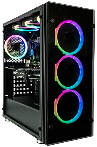 CUK Stratos VR Ready Gamer PC (Intel i7-8700, 16GB RAM, 500GB SSD, NVIDIA GeForce GTX 1060,