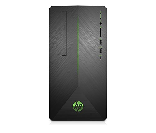 HP Pavilion Gaming PC Desktop Computer, AMD Ryzen 5 2400G, AMD Radeon RX 580, 8GB RAM,