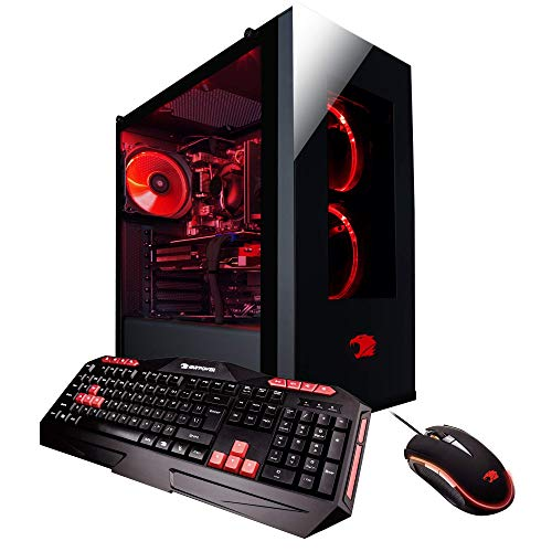 iBUYPOWER Gaming Desktop PC AM041i Intel i7-8700 6-Core 3.2 GHz, NVIDIA Geforce RTX 2080 8GB,