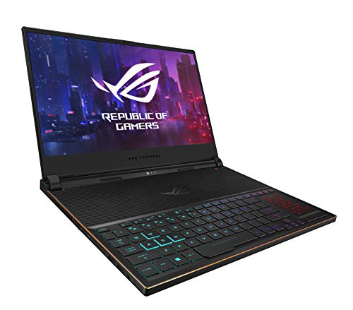 "ASUS ROG Zephyrus S Ultra Slim Gaming Laptop, 15.6"" 144Hz IPS Type FHD, GeForce RTX 2070,"