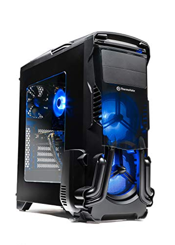 SkyTech Rampage – Gaming Computer PC Desktop – Ryzen 5 1600 6-core 3.2 Ghz, NVIDIA GeForce GTX 1060 3GB,