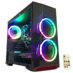 Gaming PC Desktop Computer Intel i5 3.20GHz,8GB Ram,1TB Hard Drive,Windows 10 pro,WiFi Ready,Video Card Nvidia GTX 650 1GB,
