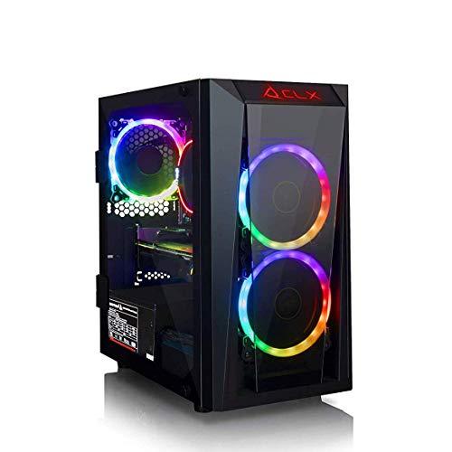 CLX Set Gaming PC (Customizable) AMD Ryzen 3 2200G [Up to Ryzen 7 2700X], 8GB DDR4 Memory [Up to 32GB],