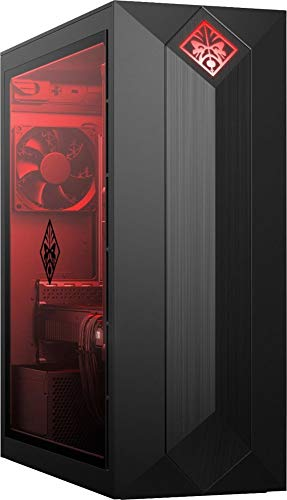 2018 HP OMEN High Performance Desktop | Intel 6-Core i7-8700 3.2GHz | 16GB DDR4 RAM | 256GB PCIe SSD Boot + 1TB HDD | NVIDIA GeForce GTX 1060 3GB | Included Mouse &
