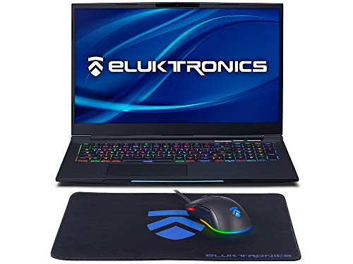 Eluktronics MECH-17 G1Rx Slim & Light NVIDIA GeForce RTX 2060 Gaming Laptop with Mechanical RGB Keyboard –