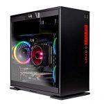 SkyTech Legacy Mini – Gaming Computer PC Desktop – Ryzen 7 1700 8-Core 3.0 GHz,